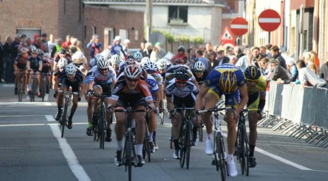 Elite sykler ritt i Belgia