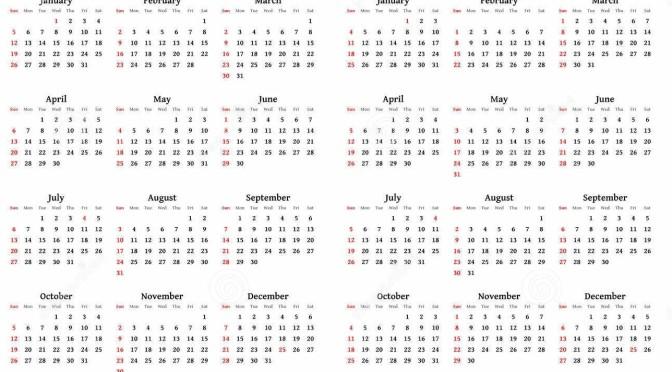 Merk av dagen i kalenderen…