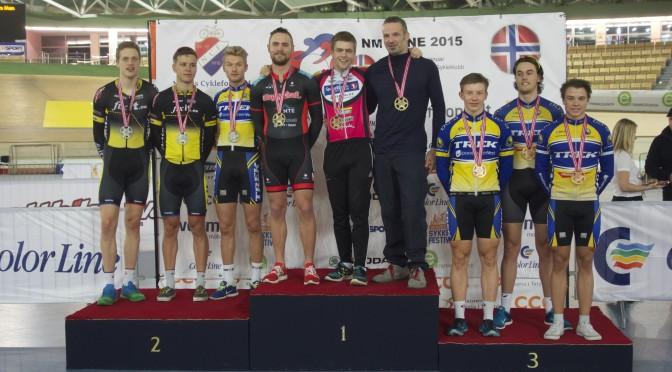 NM medaljer til Bergen CK på banen i Polen