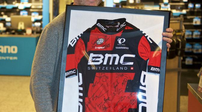 Vinner av signert BMC trøye